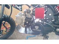 Nitro 125cc dirt bike