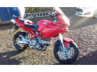 Ducati 620 MultiStrada only 11359 miles from new , brilliant winter project, 2 owners