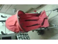 children's buggy chicco brand red only £40.00