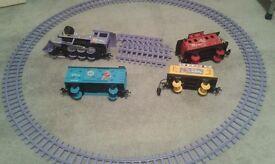 Winnie the pooh train set 16 bit rail track