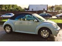 Vw beetle 1.6 Convertible only one owner from new 2 keys