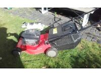 Sovereign sprint xp40 self propelled lawn mower.