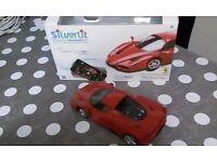 Remote control ferrari toy car