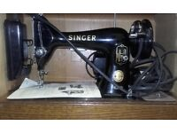 Singer 99K sewing machine 1956 model - electric