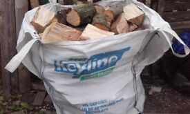 one ton bag of logs for sale £50