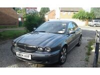 $ REDUCED!! Grey jaguar x-type 2.0d 2004 MOT Exp 31st Aug 17 ! Not to be missed!VIEWING AT SE16 5XW
