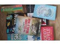 10 BOOKS !!! Bob Berman + Glenn Murphy + V.E.Schwab + Roddy Doyle ......