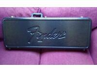 Fender hard guitar case.
