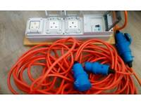 Electric hook-up
