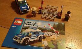 Lego City Patrol car, Excellent Condition.