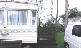 Sited Static Caravan at Emberton Country Park for sale
