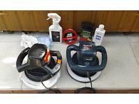Car polishing machines x 2