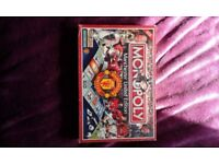Manchester united monopoly board game