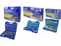 Goodyear 40, 52 and 94 piece Socket Tool Sets Available