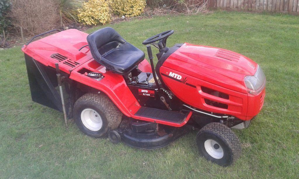 Mtd Electric Lawn Mower : Mtd e lawn mower ride on tractor gwo in