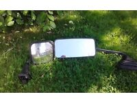 Iveco wing mirror arms with mirrors