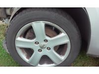 peugeot 307 17 inch alloy wheels x4