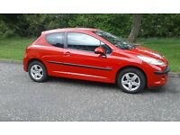 peugeot 207 1360cc petrol 2009 model bargain 1295 no offers swap for van or motorhome