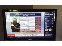 "Panasonic 42"" tv freeview hdmi can deliver."