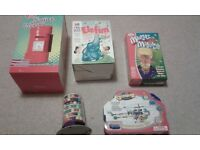 kids games and play set