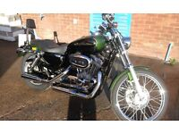 Harley davidson xl 883 2006 . Very low miles 7600