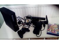X Box 360 kinect complete
