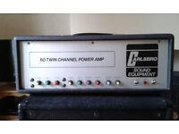 Vintage Carlsbro TC60 All Valve Amplifier