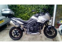 triumph tiger sport 2016, only 2 month's old