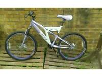Front & rear full suspension mountain bike