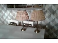 Antique brass lamps for sale