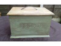 Vintage Style Wooden Bread Bin