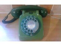 Original GPO vintage telephone, converted