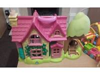 Happyland house and caravan