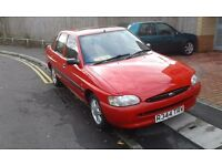 1997 ford escort 1.6 1 years mot ,2owners,service history