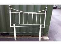 Cream and brass headboard for Double Bed