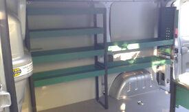 Steel Racking for 2012 Vivaro/Trafic/Primastar