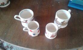 Emma Bridgewater Mugs 2 different sizes