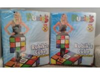 2 rubix cube fancy dress ideal for 80s party.