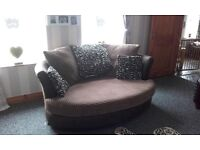 Cuddle sofa excellent condition