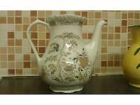 Real English ironstone tea pot