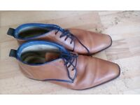 Mens Boots size 8 made by Jones the Bootmaker - Tan Leather great condition hardly worn.