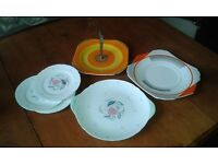 Beautiful vintage Shelley plate collection