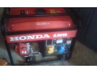 Honda Generator 6.5 KVA