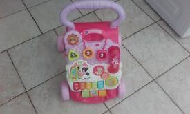 v tech baby step walker.