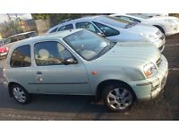 Nissan micra one little petrol with 5 mouths MOT VERY SMOOTH to drive