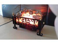 Burley electric fire basket
