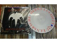 Queensrÿche – Silent Lucidity, VG, 12 inch limited edition picture disc.