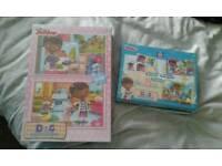 Brand new Disney Doc Mcstuffin puzzle x 2