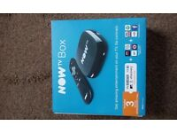 Now tv box with 3 months free entertainment package