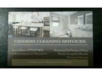 Cinders Cleaning Services